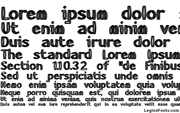 specimens HeavyWood font, sample HeavyWood font, an example of writing HeavyWood font, review HeavyWood font, preview HeavyWood font, HeavyWood font