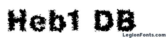 Heb1 DB Font