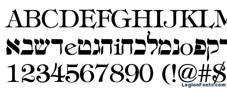 hebrew Font Download Free / LegionFonts