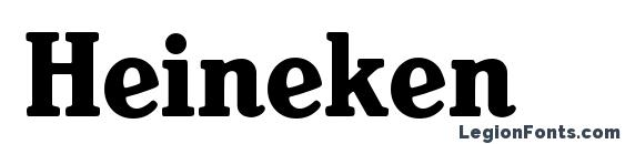 Heineken Font, Stylish Fonts