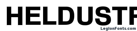 Heldustryftvbasic black Font, Modern Fonts