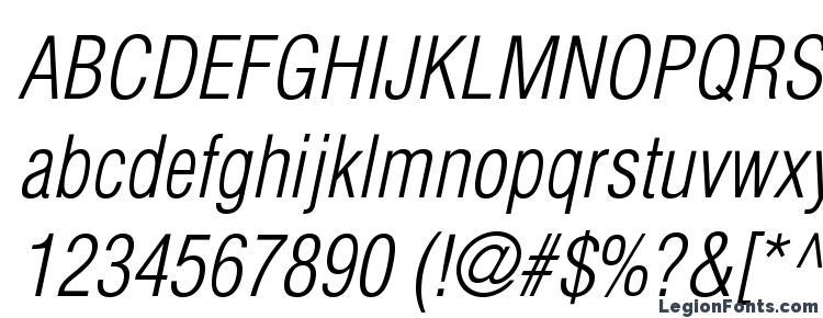 глифы шрифта Helioscondlightc italic, символы шрифта Helioscondlightc italic, символьная карта шрифта Helioscondlightc italic, предварительный просмотр шрифта Helioscondlightc italic, алфавит шрифта Helioscondlightc italic, шрифт Helioscondlightc italic