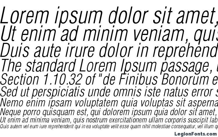 образцы шрифта Helioscondlightc italic, образец шрифта Helioscondlightc italic, пример написания шрифта Helioscondlightc italic, просмотр шрифта Helioscondlightc italic, предосмотр шрифта Helioscondlightc italic, шрифт Helioscondlightc italic