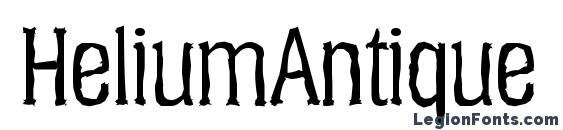 HeliumAntique Regular Font