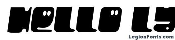 Hello Larry Font