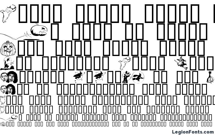 образцы шрифта Helloween, образец шрифта Helloween, пример написания шрифта Helloween, просмотр шрифта Helloween, предосмотр шрифта Helloween, шрифт Helloween