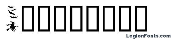 Шрифт Helloween