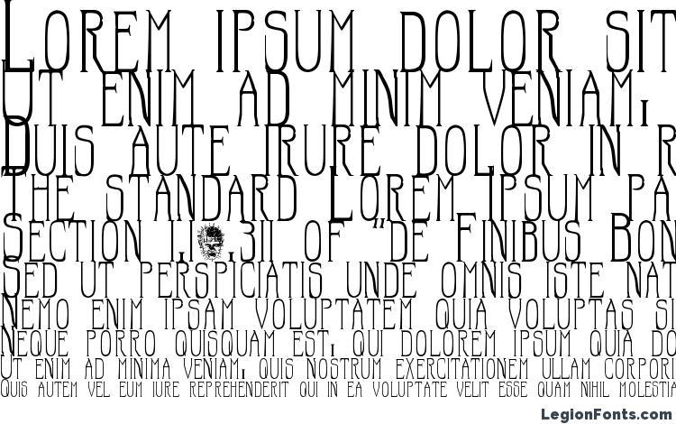 specimens Hellraiser SC font, sample Hellraiser SC font, an example of writing Hellraiser SC font, review Hellraiser SC font, preview Hellraiser SC font, Hellraiser SC font