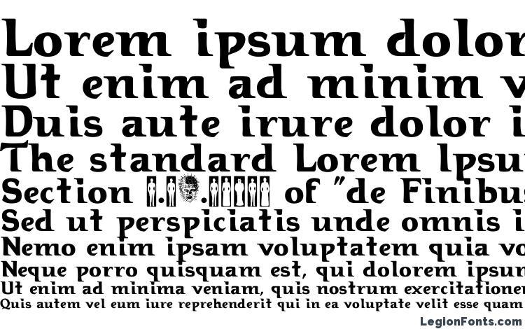 specimens Hellraiser3 font, sample Hellraiser3 font, an example of writing Hellraiser3 font, review Hellraiser3 font, preview Hellraiser3 font, Hellraiser3 font
