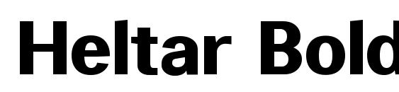 Шрифт Heltar Bold