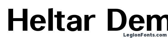 Heltar DemiBold Font