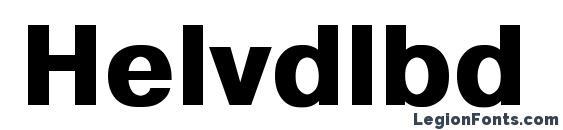 Helvdlbd Font
