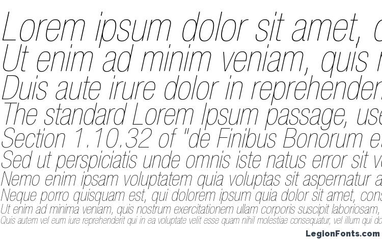 specimens Helvetica LT 27 Ultra Light Condensed Oblique font, sample Helvetica LT 27 Ultra Light Condensed Oblique font, an example of writing Helvetica LT 27 Ultra Light Condensed Oblique font, review Helvetica LT 27 Ultra Light Condensed Oblique font, preview Helvetica LT 27 Ultra Light Condensed Oblique font, Helvetica LT 27 Ultra Light Condensed Oblique font