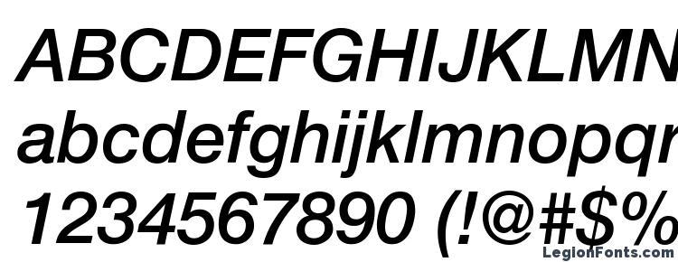 глифы шрифта Helvetica LT 66 Medium Italic, символы шрифта Helvetica LT 66 Medium Italic, символьная карта шрифта Helvetica LT 66 Medium Italic, предварительный просмотр шрифта Helvetica LT 66 Medium Italic, алфавит шрифта Helvetica LT 66 Medium Italic, шрифт Helvetica LT 66 Medium Italic