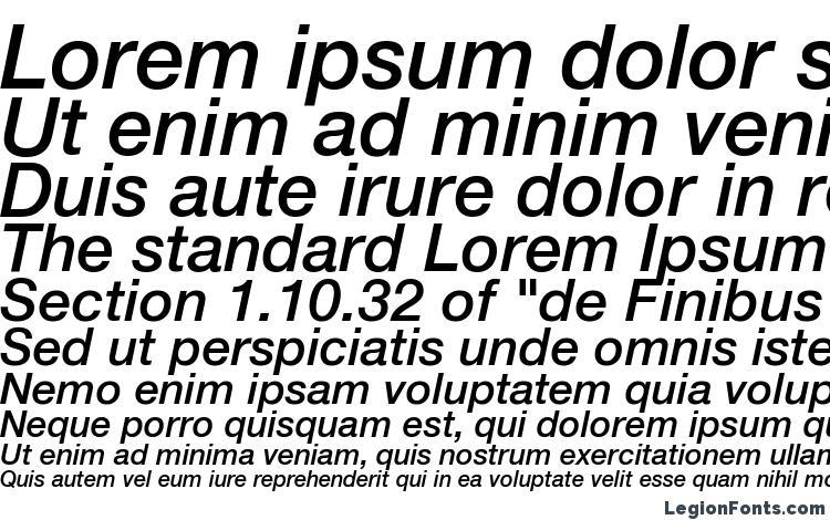 образцы шрифта Helvetica LT 66 Medium Italic, образец шрифта Helvetica LT 66 Medium Italic, пример написания шрифта Helvetica LT 66 Medium Italic, просмотр шрифта Helvetica LT 66 Medium Italic, предосмотр шрифта Helvetica LT 66 Medium Italic, шрифт Helvetica LT 66 Medium Italic