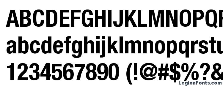 Helvetica LT 77 Bold Condensed Font Download Free / LegionFonts