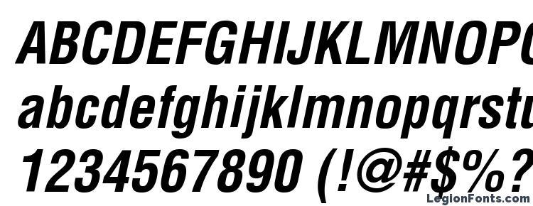 глифы шрифта Helvetica LT Condensed Bold Oblique, символы шрифта Helvetica LT Condensed Bold Oblique, символьная карта шрифта Helvetica LT Condensed Bold Oblique, предварительный просмотр шрифта Helvetica LT Condensed Bold Oblique, алфавит шрифта Helvetica LT Condensed Bold Oblique, шрифт Helvetica LT Condensed Bold Oblique