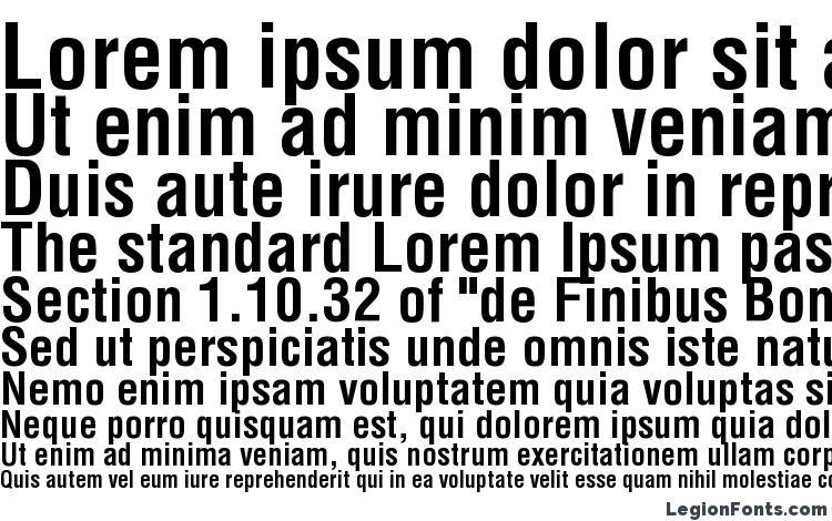 Helvetica LT Condensed Bold Font Download Free / LegionFonts