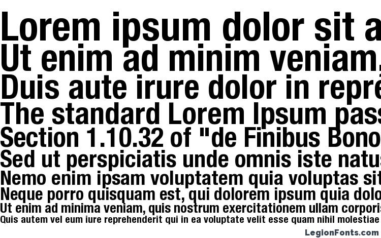 Helvetica Neue Condensed Bold Font Download Free / LegionFonts