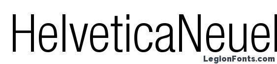 Шрифт HelveticaNeueLTStd LtCn