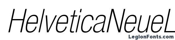 Шрифт HelveticaNeueLTStd ThCnO
