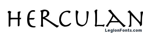 Herculanum Font