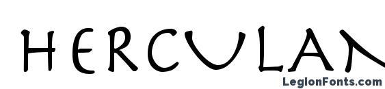 Шрифт HerculanumLTStd