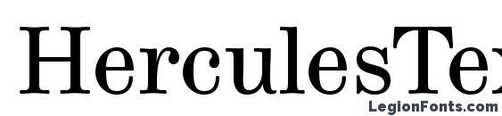 HerculesText Font