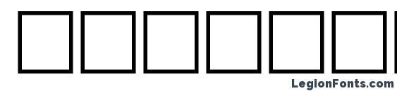 Шрифт Hesham Bold