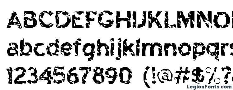глифы шрифта HighwaytoHeck Regular, символы шрифта HighwaytoHeck Regular, символьная карта шрифта HighwaytoHeck Regular, предварительный просмотр шрифта HighwaytoHeck Regular, алфавит шрифта HighwaytoHeck Regular, шрифт HighwaytoHeck Regular