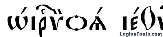 Hirmos ieUcs Font