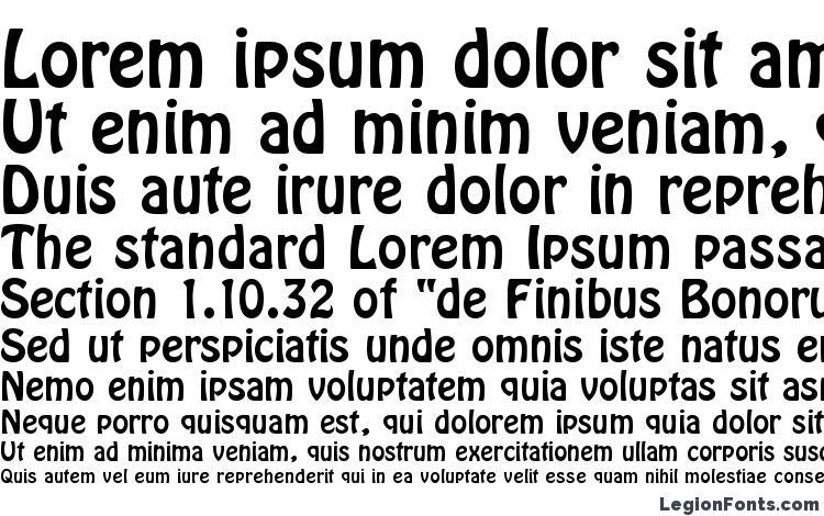 specimens HoboDEE font, sample HoboDEE font, an example of writing HoboDEE font, review HoboDEE font, preview HoboDEE font, HoboDEE font