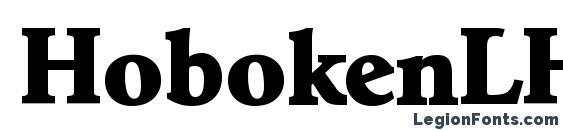 HobokenLH Bold Font