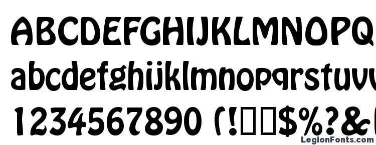 глифы шрифта HolliDB Normal, символы шрифта HolliDB Normal, символьная карта шрифта HolliDB Normal, предварительный просмотр шрифта HolliDB Normal, алфавит шрифта HolliDB Normal, шрифт HolliDB Normal