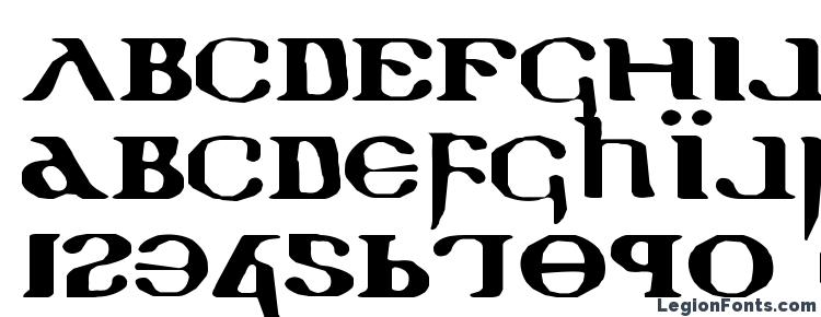 glyphs Holy Empire Expanded font, сharacters Holy Empire Expanded font, symbols Holy Empire Expanded font, character map Holy Empire Expanded font, preview Holy Empire Expanded font, abc Holy Empire Expanded font, Holy Empire Expanded font