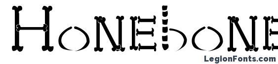 Honebone ukokkei Font