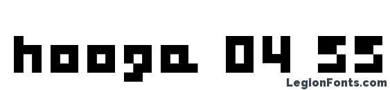 hooge 04 55 Font