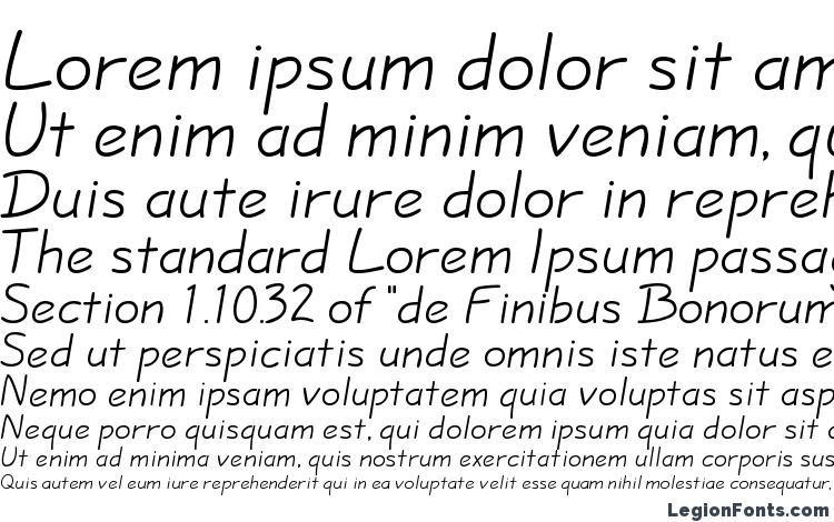 specimens Hopalong Normal font, sample Hopalong Normal font, an example of writing Hopalong Normal font, review Hopalong Normal font, preview Hopalong Normal font, Hopalong Normal font