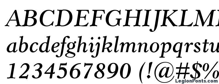 глифы шрифта HorleyOldStyleMTStd SbIt, символы шрифта HorleyOldStyleMTStd SbIt, символьная карта шрифта HorleyOldStyleMTStd SbIt, предварительный просмотр шрифта HorleyOldStyleMTStd SbIt, алфавит шрифта HorleyOldStyleMTStd SbIt, шрифт HorleyOldStyleMTStd SbIt