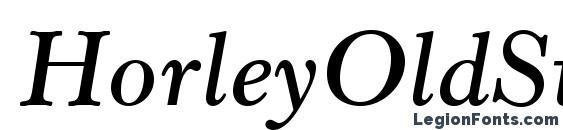 шрифт HorleyOldStyleMTStd SbIt, бесплатный шрифт HorleyOldStyleMTStd SbIt, предварительный просмотр шрифта HorleyOldStyleMTStd SbIt