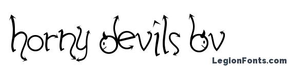 Horny Devils BV Font