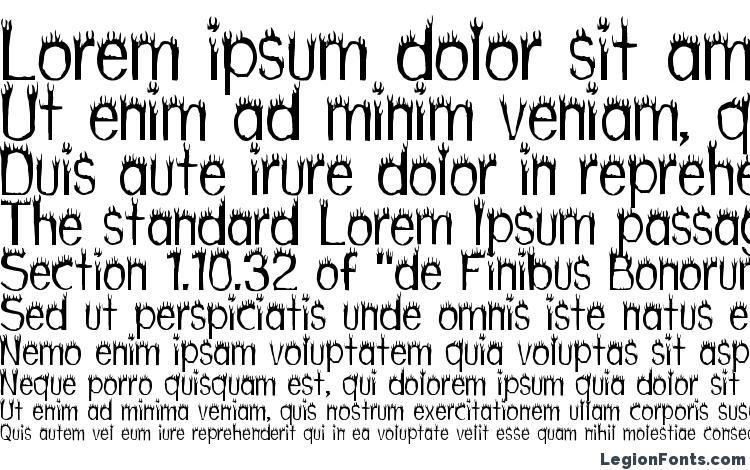specimens Hothead font, sample Hothead font, an example of writing Hothead font, review Hothead font, preview Hothead font, Hothead font