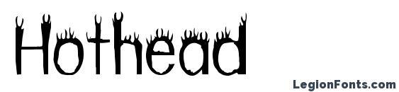 Шрифт Hothead