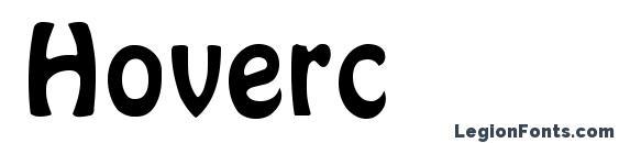 Шрифт Hoverc