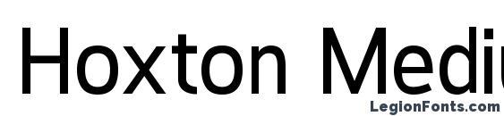 Hoxton Medium Font