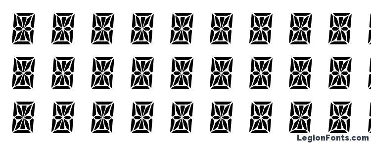 glyphs HP41 Character Set font, сharacters HP41 Character Set font, symbols HP41 Character Set font, character map HP41 Character Set font, preview HP41 Character Set font, abc HP41 Character Set font, HP41 Character Set font