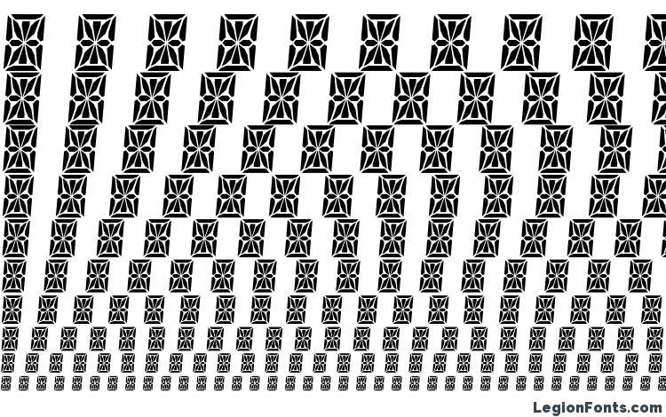 specimens HP41 Character Set font, sample HP41 Character Set font, an example of writing HP41 Character Set font, review HP41 Character Set font, preview HP41 Character Set font, HP41 Character Set font
