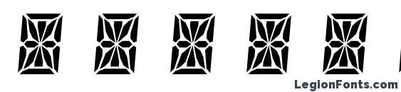 HP41 Character Set font, free HP41 Character Set font, preview HP41 Character Set font