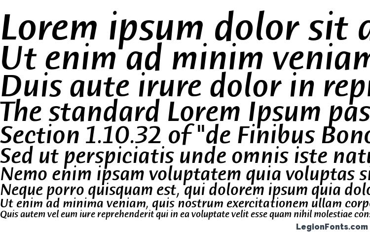 specimens Humana Sans ITC Medium Italic font, sample Humana Sans ITC Medium Italic font, an example of writing Humana Sans ITC Medium Italic font, review Humana Sans ITC Medium Italic font, preview Humana Sans ITC Medium Italic font, Humana Sans ITC Medium Italic font