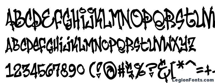 глифы шрифта Humbucker Nasty, символы шрифта Humbucker Nasty, символьная карта шрифта Humbucker Nasty, предварительный просмотр шрифта Humbucker Nasty, алфавит шрифта Humbucker Nasty, шрифт Humbucker Nasty